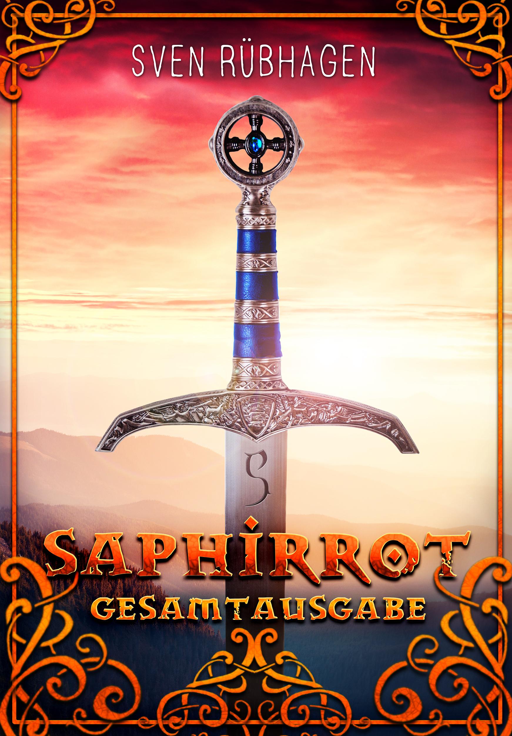 Saphirrot – Gesamtausgabe als Ebook